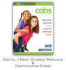 ASHI Child & Babysitting Safety (CABS) Certification Cards & Student Handbooks (Set of 5)