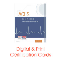 ASHI ACLS Student Study Guide 5th Edition by Aehlert