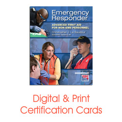 ASHI Advanced First Aid Certification Card