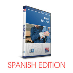 ASHI Basic First Aid Course DVD - Spanish G2015