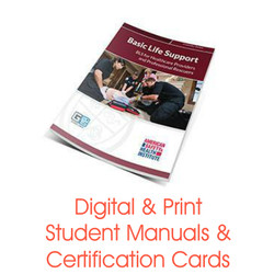 ASHI BLS for Healthcare Certification Card Student Manual