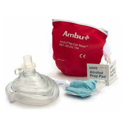 Ambu Adult CPR Mask With Oxygen Inlet