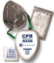 CPR Pocket Face Mask With O2 Inlet