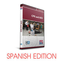 ASHI Basic CPR AED Instructor DVD - Spanish