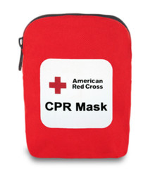 Red Cross CPR Mask (Soft Case)