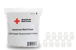 Red Cross CPR Mask Replacement Valves (Pk/10)