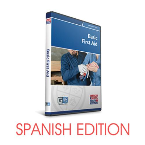ASHI Basic First Aid Course DVD - Spanish G2015