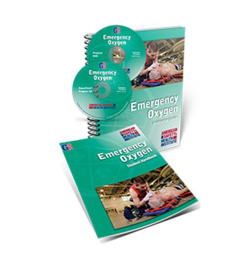 ASHI Emergency Oxygen O2 Instructor Package 2010