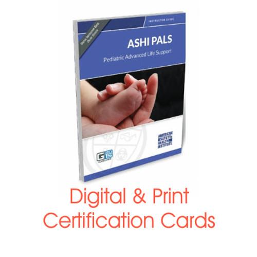ASHI G2015 PALS Certification Cards