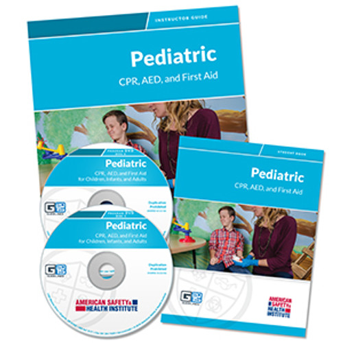 ASHI Pediatric CPR/AED & First Aid Program Instructor Materials (G2015 Version)