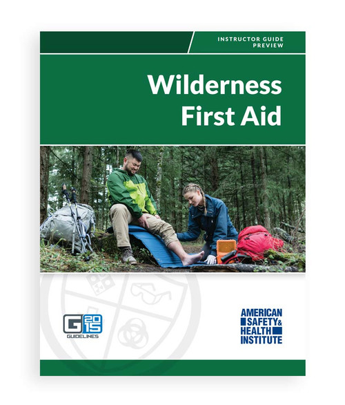 ASHI Wilderness First Aid Instructor Package G2015 (2018 Version) (PKGWFA-18)