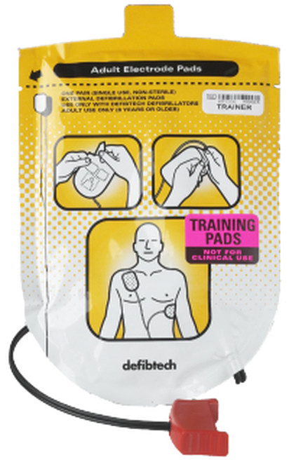 DEFIBTECH ADULT TRAINING PADS
