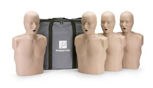 PRESTAN PROFESSIONAL  4 ADULT MANIKINS with grey carrying bag