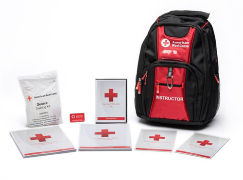 BACKPACK FOR FIRST AID, CPR & AED INSTRUCTORS ALONG WITH TRAINING KIT