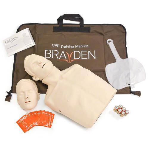 Brayden CPR Manikin With LED CPR Feedback Lights