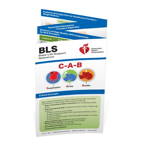 2020 AHA BLS Reference Card