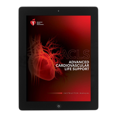 2020 AHA ACLS Instructor Manual eBook