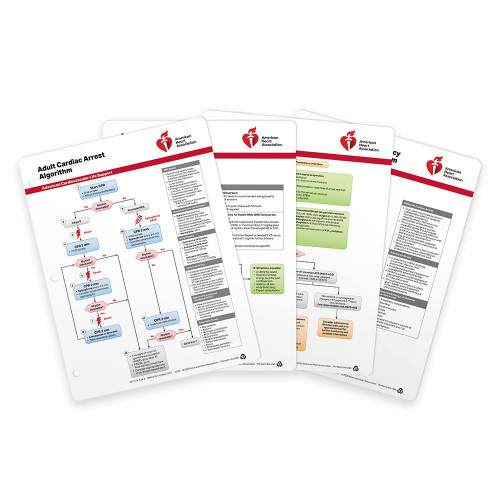 2020 AHA ACLS Emergency Cart Cards