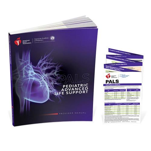 2020 AHA PALS Provider Manual Book and Reference Card