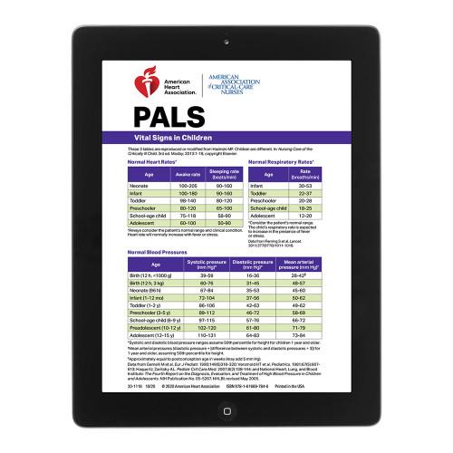 2020 AHA PALS Digital Reference Card