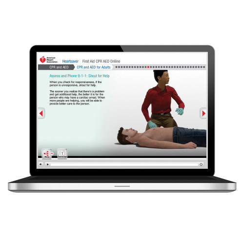 2015 AHA Heartsaver® First Aid CPR AED Online