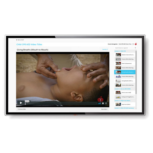 2015 AHA Heartsaver® First Aid CPR AED Streaming Video