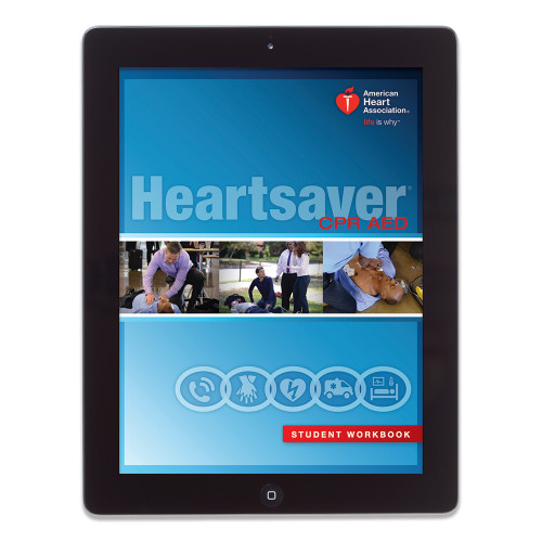 2015 AHA Heartsaver® CPR AED Student Digital eBook