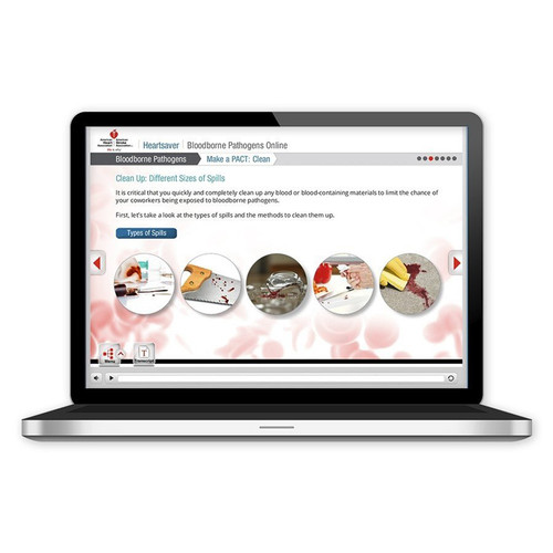 2015 AHA Heartsaver® Bloodborne Pathogens Online