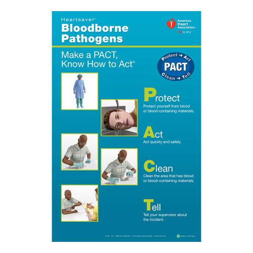 2015 AHA Heartsaver® Bloodborne Pathogens Poster