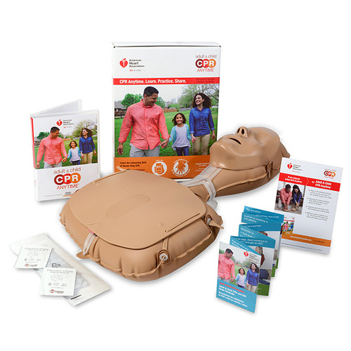 2015 AHA Laerdal® Adult & Child CPR Anytime® Kit