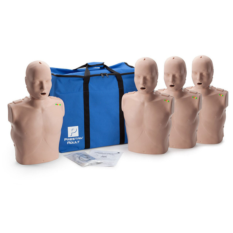 PRESTAN PROFESSIONAL  4 ADULT MANIKINS with blue carrying bag