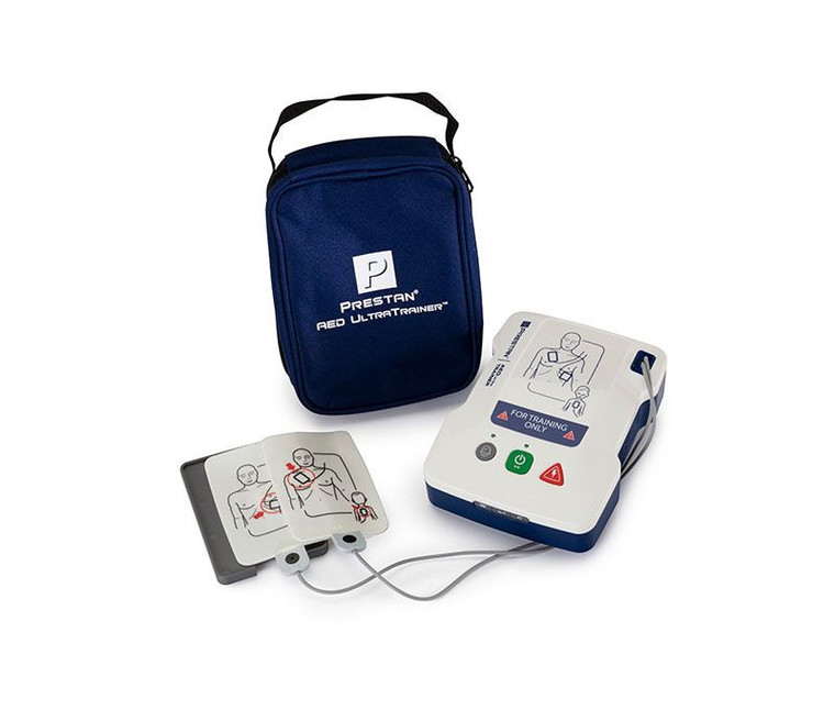 Prestan AED UltraTrainer with carrying bag