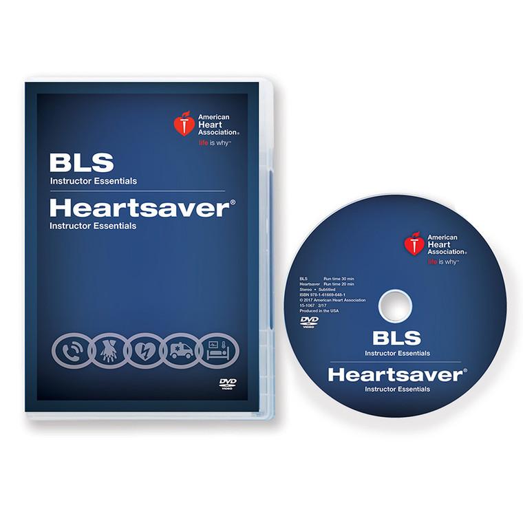 2015 AHA BLS Heartsaver® Instructor Essentials Course DVD Box and Disc