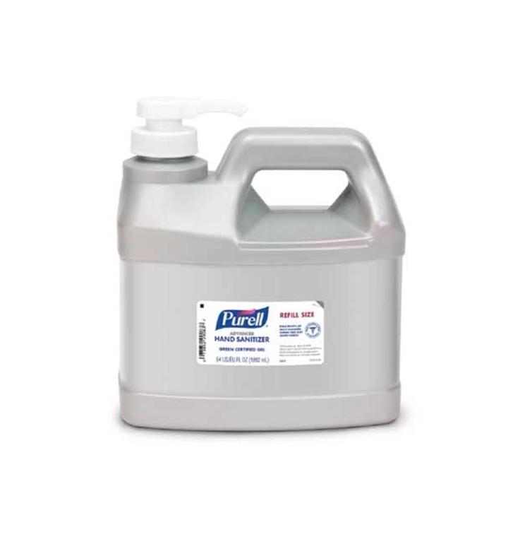 PURELL Advanced Hand Sanitizer Gel Half Gallon Box