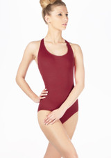 Move Madison Leotard NEW Red front. [Red]
