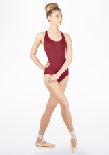 Move Madison Leotard NEW Red front #2. [Red]