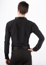 Move Mateo Men's Latin Shirt Black [Black]