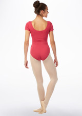 Move Bibi Leotard NEW Pink front. [Pink]