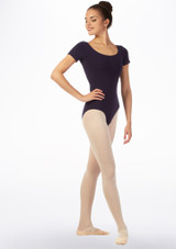 Move Bibi Leotard NEW Blue back #2. [Blue]