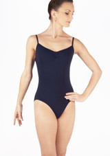 Move Lina Leotard Blue front. [Blue]