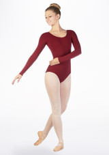 Move Caprice Leotard NEW Red front. [Red]