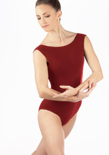 Move Savvi Leotard Black front. [Black]