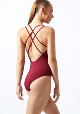 Move Brook Leotard NEW Red front. [Blue]