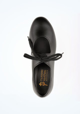 Tappers and Pointers Low Heel Tap Black #2. [Black]