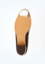 Tappers and Pointers Black Cuban Heel Tap #3. [Black]