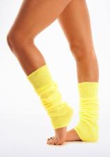 Fluorescent Legwarmers Yellow [Yellow]