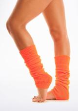 Fluorescent Legwarmers Orange [Orange]