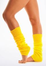 Legwarmers Yellow. [Yellow]