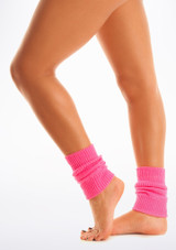 Tappers & Pointers Kids Legwarmers Pink #2. [Pink]