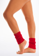 Tappers & Pointers Kids Legwarmers Red. [Red]